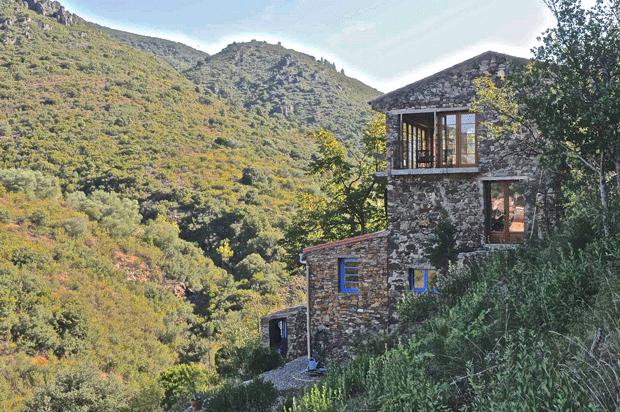 Hus i Sydfrankrig til leje - huset i Roquebrun
